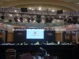 Indicador de diodo emissor de luz de fundição interno do gabinete P3 para os concertos e os eventos (576mm*576mm)