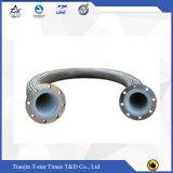 Tubo flessibile ondulato del metallo flessibile dell'acciaio inossidabile con la flangia
