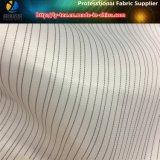 Surtidor de la tela de la guarnición de la raya del poliester, surtidor tejido de la materia textil (S146.147)