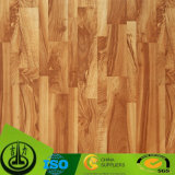 Documento superiore del grano di legno di quercia come documento decorativo