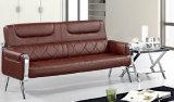 Jeux neufs populaires de sofa de cuir de bureau de type de qualité avec le bâti 631#. en métal
