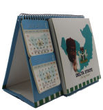 4.3 Bildschirm der Zoll-Digital-Broschüren-Calendar/TFT für Videokarte
