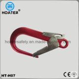 Crochet en aluminium de haute résistance léger de sûreté pour le harnais de sûreté