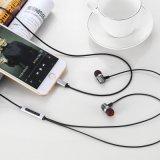 Oortelefoon van het Metaal van hoge Prestaties Handsfree Stereo voor iPhone 7 de Stop van de Bliksem