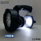 Neue 5W CREE LED Taschenlampe mit Li-Ion4000mah batterie