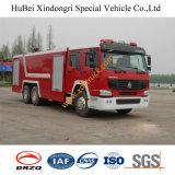 de Goedkope Vrachtwagen Euro4 van de Brand van het Water 16ton HOWO