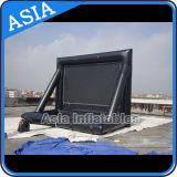 Kundenspezifische Größen-und Firmenzeichen-Bildschirm-populärer Luft-Bildschirm-aufblasbare Projektor-Bildschirme, im Freien aufblasbaren Film-Bildschirm anziehend, Luft-Bildschirm