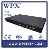 Equipo óptico de fibra del ODM FTTH Huawei 8 Pon Olt Gepon Olt del OEM