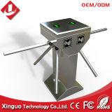 304ステンレス鋼自動3アーム低下のアクセス制御三脚の回転木戸RFIDのゲート