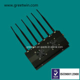 3G 4G WiFi Bluetooth GPS Signal Blocker Dispositif de surveillance GPS Jammer (GW-JC6)
