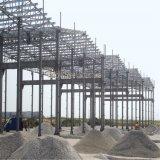 Neue Entwurfs-Stahlkonstruktion-aufbauende vorfabrizierte Nahrungsmittelfabrik