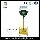 Iluminación de destello solar - luz de la señal de tráfico del LED