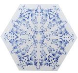 200X230 de blauwe en Witte Tegel Bedqhc001 van het Porselein