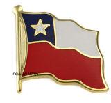 Distintivo con il marchio della bandierina
