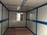 Prefabricada fácil montaje Contenedor Plegable Cámara de Sandwich Panel de pared y estructura de acero