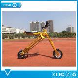 折る電気スクーターの自転車は1年の製造業者の保証を自転車に乗る