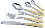 vaisselle de première qualité Polished de couverts d'acier inoxydable du miroir 12PCS/16PCS/24PCS/72PCS/84PCS/86PCS (CW-CYD824)