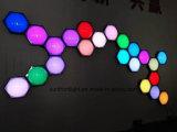 bille de nid d'abeilles de la lumière 3D de décoration de la visibilité 3D