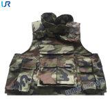 Het volledige Vest van het Bewijs van de Kogel van het Pantser van het Lichaam van de Bescherming Militaire
