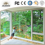 Modernes Aluminiumörtlich festgelegtes Fenster des profil-UPVC/Aluminum