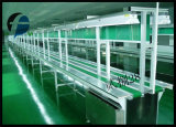 Glatter industrieller Belüftung-Oberflächenriemen mit dem Gewebe eingeschoben