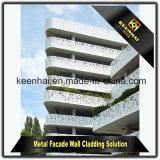 2017 горячим пефорированных сбыванием алюминиевых панелей стены для плакирования и украшения фасада