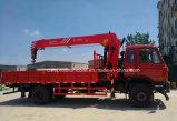 La vente chaude 5 tonnes de grue télescopique de XCMG 10 tonnes de camion a monté avec la grue