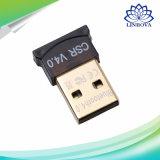 Приемник bluetooth USB переходники EDR Dongle CSR V4.0 USB 2.0 Bluetooth 4.0 для поленики Pi 2 шлемофона выигрыша XP/V/7/8/10 компьтер-книжки PC