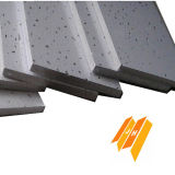 Mattonelle minerali del soffitto della fibra (brillamento di sabbia, certificato del CE)