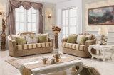 Tecido Sofá com assento de amor na venda Couch