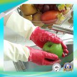 Guantes ácidos antis de limpieza del látex del trabajo con ISO9001 aprobado