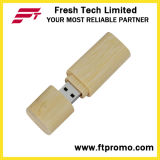 Movimentação portátil do flash do USB do estilo de Bamboo&Wood (D803)