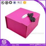 Geschenk-Kasten-kundenspezifisches Firmenzeichen-Druck-Packpapier-Plättchen geöffnet