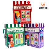 Geschenk-Kasten mit Feldern für die Kinder intellektuell u. kreative Entwicklung
