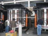 Forno di inclinazione idraulico di fusione di induzione di buona qualità per alluminio