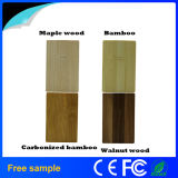 Échantillon gratuit Bamboo Wood Business Card USB Memory Stick 8GB