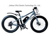 Grande potere bici elettrica della gomma grassa da 26 pollici con l'incrociatore della spiaggia della batteria di litio