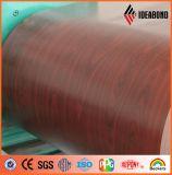 Hölzernes Muster vorgestrichene Aluminiumfolie (AE-302)