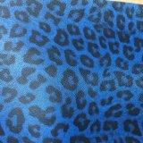Couro sintético do plutônio do leopardo para o pacote Hx-0729 do presente da caixa do telefone