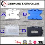 Kenteken van de Naam van identiteitskaart van de Polyester van de douane het Marineblauwe met de Spoel van het Sleutelkoord