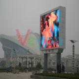 Шкаф индикации СИД полного цвета напольный рекламировать P6 для стены видеоего СИД