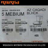 Etiqueta eletrônica do Tag da roupa RFID de RFID