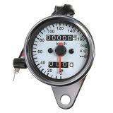 Calibrador dual del velocímetro del odómetro de la motocicleta con la luz de señal del contraluz del LED