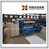 Kxd-828 a glacé le roulis en acier de tuile formant des machines