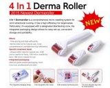 Rodillo 4 de Derma en 1 cicatriz micro del acné del tratamiento de la piel de la aguja