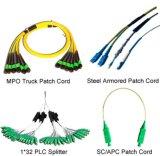 Sc/FC/LC van de Vezel Optische Patchcord van Sm en van mm