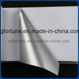 Auto-adesivo adesivo de bolha de vinil livre de prata brilhante etiqueta de carro de boa qualidade