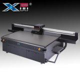 Impresora ULTRAVIOLETA ULTRAVIOLETA de la base plana del formato grande de la cabeza de impresión de Xuli Printer/4PC G5 Rioch