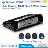 DIY TPMS Solar Energy TPMS met Four External Sensors voor All Family Cars