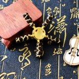 Lega calda della lega del metallo degli uomini dell'acciaio inossidabile di modo del commercio all'ingrosso di sicurezza dell'anello della mano del filatore dei re The Monkey re Hand